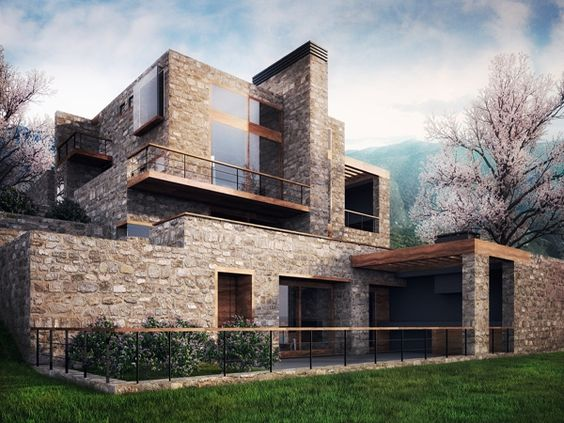 House, Greece, by Division Architects.