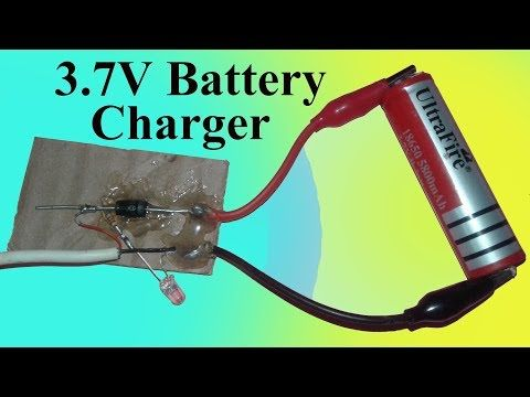 How To Make 3 7v Battery Charger At Home Youtube Charger Battery Charger Free Energy Generator