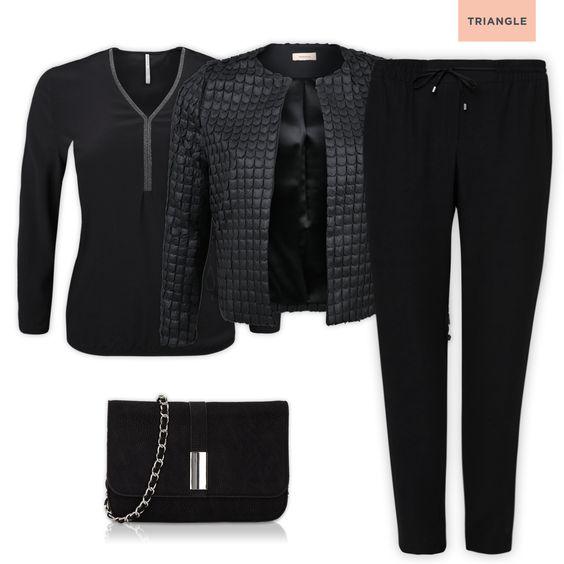 Check out 1 blouse - 3 styles #bag #jacket #fashion #black