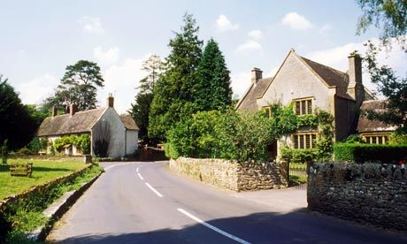 """East Coker, Somerset ...The second poem of """"Four Quartets"""", East Coker, was finished and published in 1940. (Eliot visited East Coker in 1937 and his ashes now repose there at St. Michael's Church.)"""
