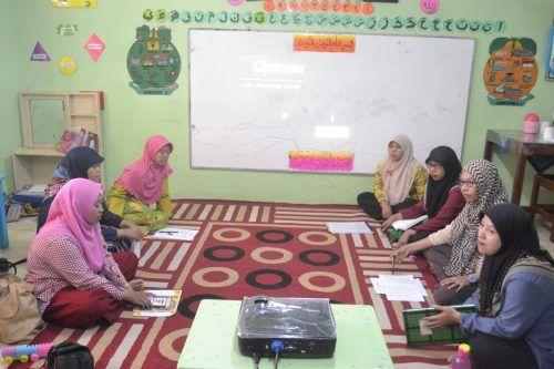 Rapat Guru Mingguan Penguatan Bahasa Inggris Untuk Anak Usia Dini Guru Bahasa Bahasa Inggris