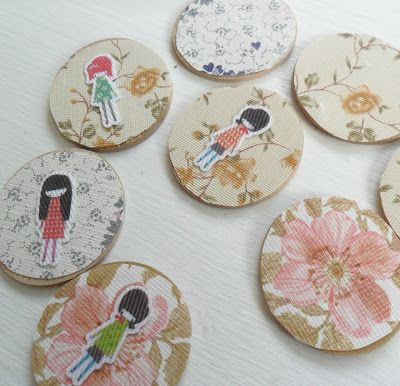teawagontales: how to ...little badges....