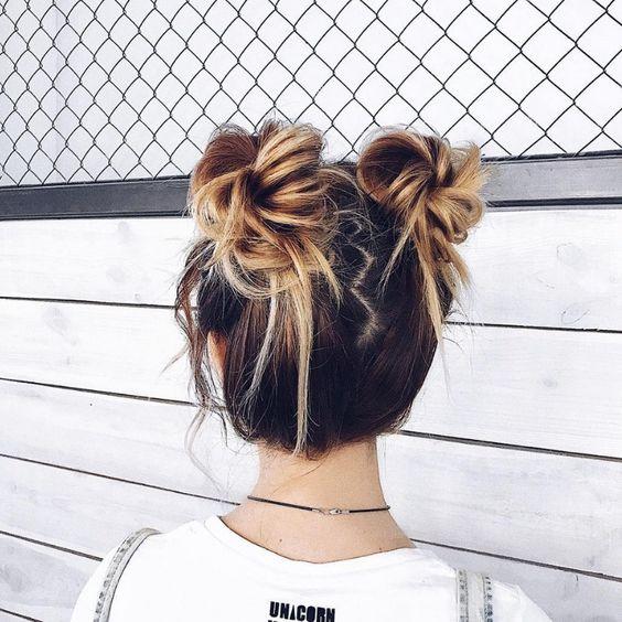 Coque despojado: 100 ideias para um penteado lindo e moderno