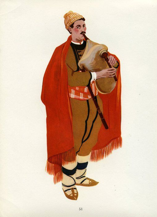 Средни Родопи - костюм от Родопите, България: