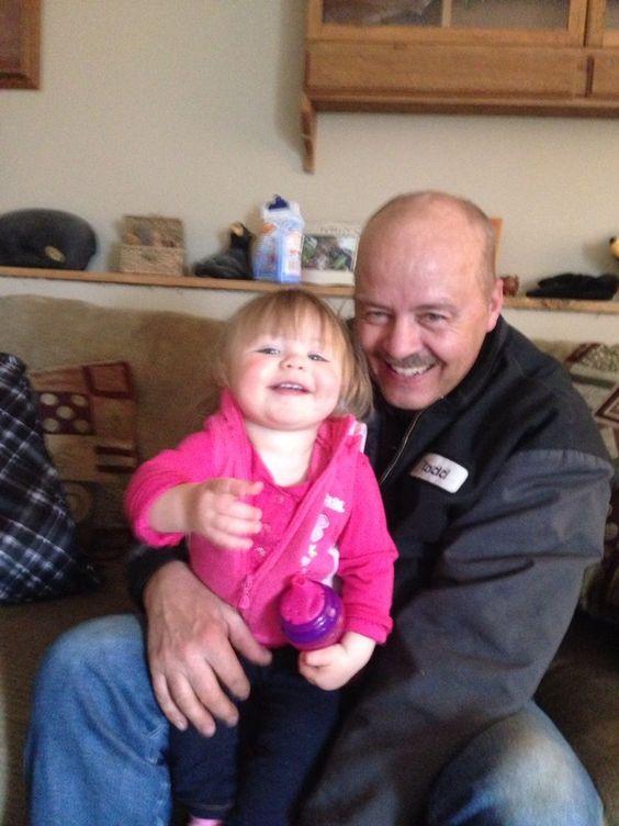 having fun with grandpa.