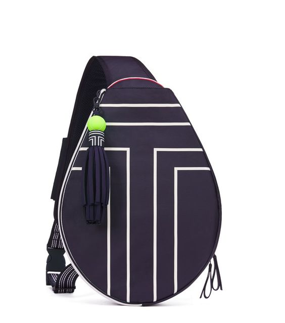 CANVAS TENNIS SLING BACKPACK: