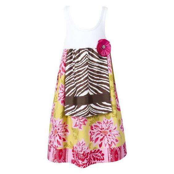 Handmade Apron Tank Dress $46