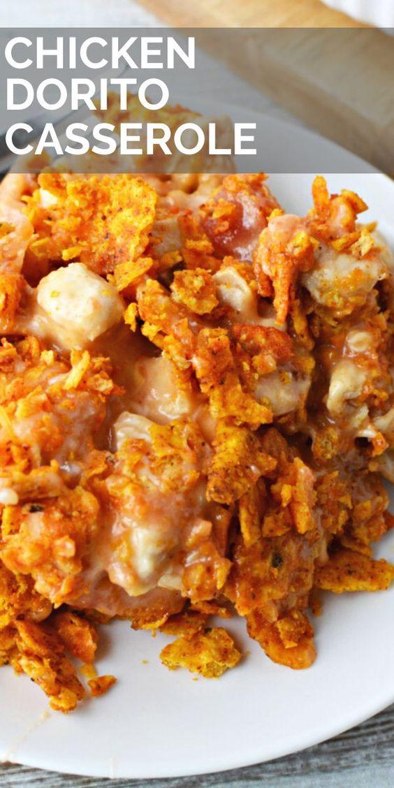 Easy Dorito Chicken Casserole Recipe - BubbaPie