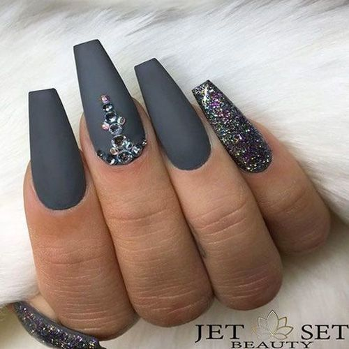 50 Best Fall Acrylic Nails For 2018 Favhq Com Fall Acrylic Nails Coffin Nails Designs Nail Designs