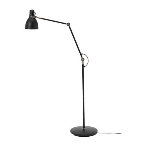Arod Floor Reading Lamp With Led Bulb Dark Gray Anthracite