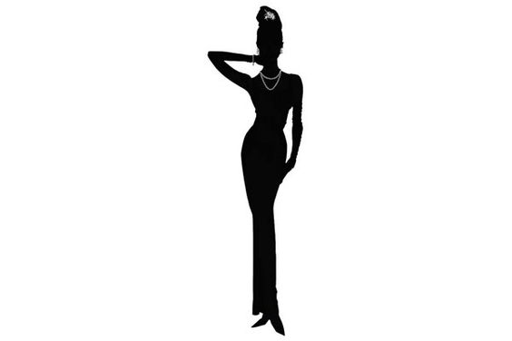 Silhouette Audrey Hepburn And Wall Decals On Pinterest