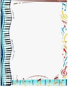 Musical Instruments And Musical Notes Frame Texture Border Creative Musical Instruments Png Transparent Clipart Image And Psd File For Free Download Music Border Elementary Music Classroom Teaching Music