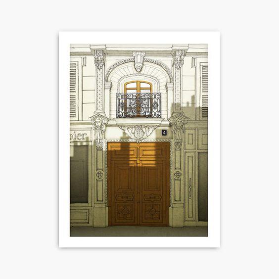 Paris illustration  Fight for the light  Fine art by tubidu, $20.00