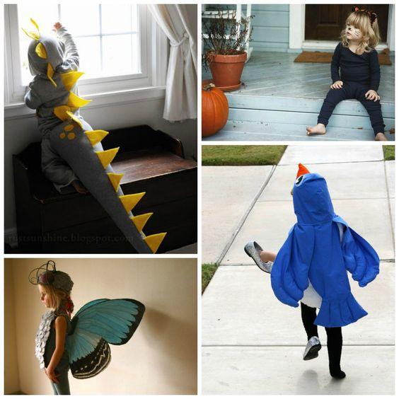 Ihr seid auf der Suche nach einem originellen Kinderkostüm zum selber machen? Hier findet ihr 7 tierische Kostümideen für Karneval.