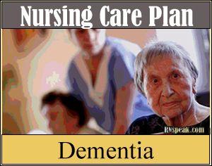 Dementia Nursing Care Plan – Self Care Deficit