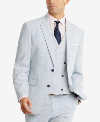 $645 DKNY Men/'s 42R GRAY WOOL MODERN FIT 2-BUTTON BLAZER SPORT COAT SUIT JACKET