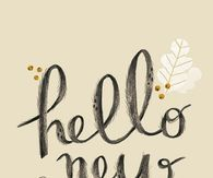 Hello New Year
