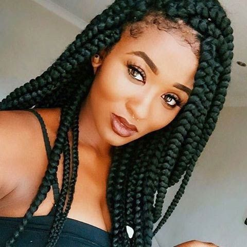 Can Crochet Box Braids Get Wet : braids braid hairstyles dark box braid styles braid styles jumbo box ...
