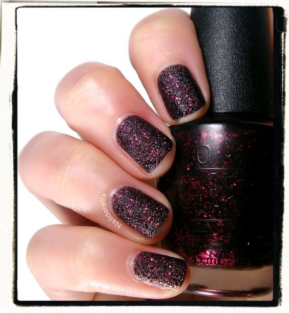 OPI - Stay the Night (Liquid Sand).  Just bought this one and I love it!