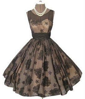 Love vintage dresses-so beautiful!: Vintage Dresses, Vintage Fashion, 1950 S, Vintage Style