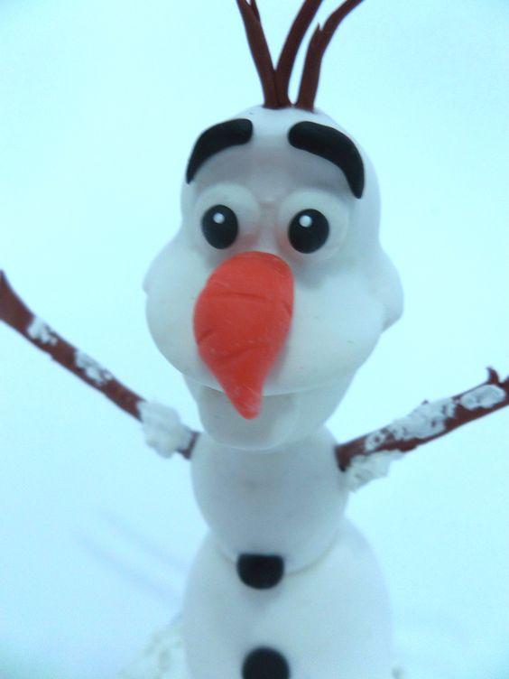 Personagem Olaf - Frozen