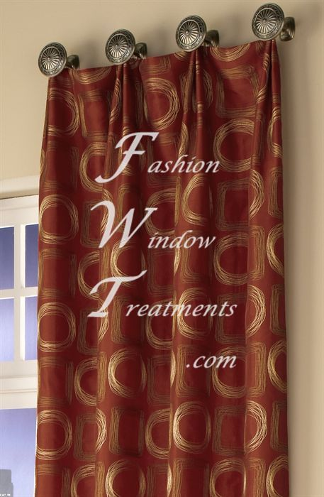 How To Hang Drapes From Knobs Bing Images Living Room