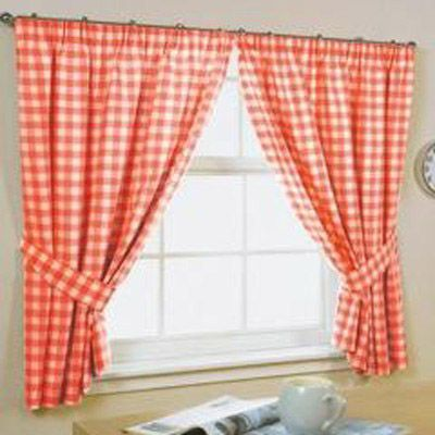 curtains gingham decor pinterest curtains gingham