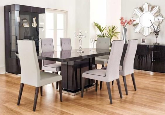 Table and chairs chairs and dining rooms on pinterest for F furniture village
