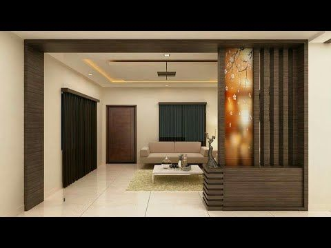 Wooden Partition Wall Designs Living Room Youtube Living Room Partition Living Room Partition Design Ceiling Design Living Room