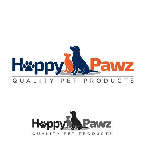 Happy Pawz Needs A Fun Logo For Package Pet Seat Cover For Car