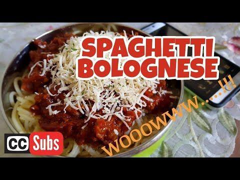 Delicious Recipe Spaghetti Bolognese Sauce Youtube Resep Makanan Makanan Enak Jus Tomat