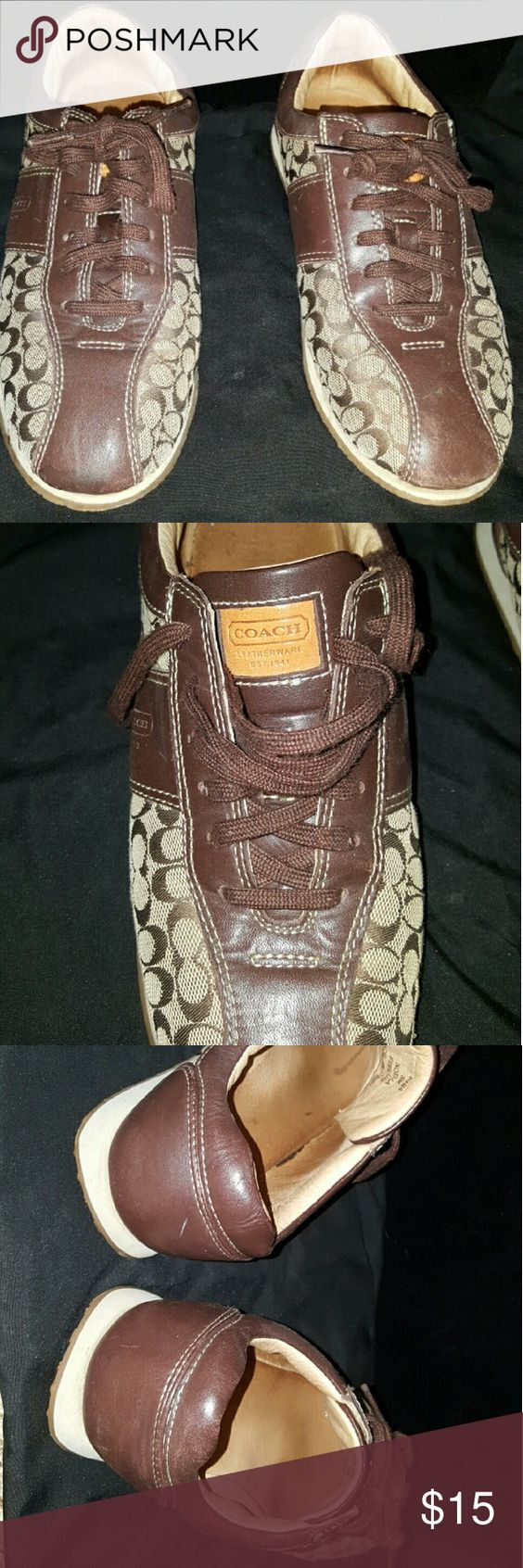 Shoes Used-authentic Coach signature collection sneaker Coach Shoes Sneakers