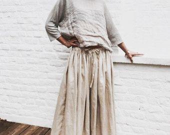 vêtements lin femme – Etsy FR