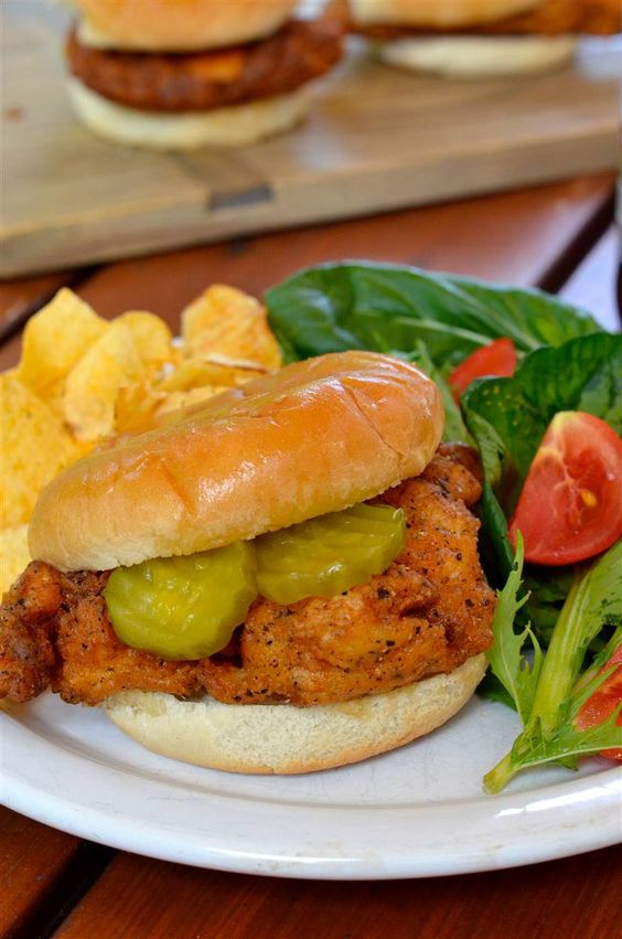Chick-fil-A style chicken sandwich, says this on the Today Show today. Looks mouthwatering!!