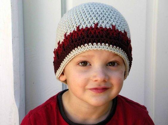 crochet boys hat