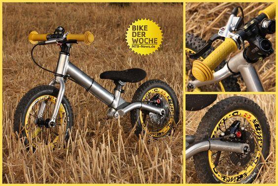 Ein Kinderrad knapp über 3 kg? Mit Scheibenbremse? IBC-User Surtre präsentiert…