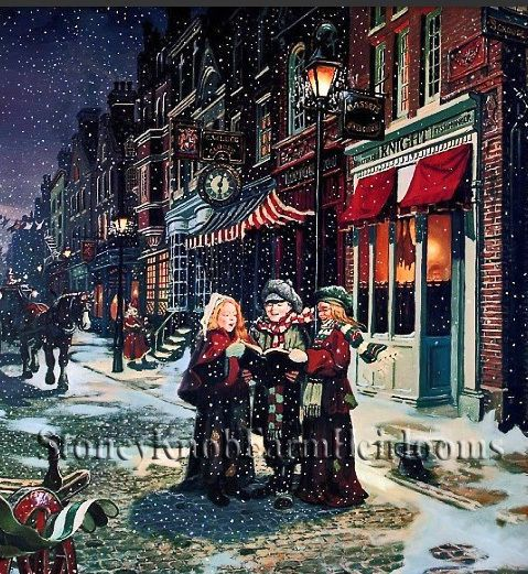 Christmas Carolers Singers Vintage Decorations By: Pinterest • The World's Catalog Of Ideas