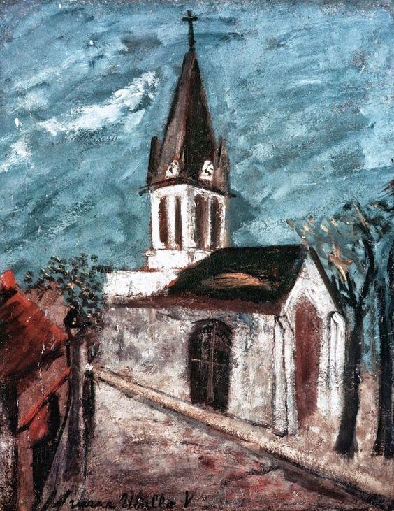 Maurice Utrillo (1883 - 1955) The Small Church