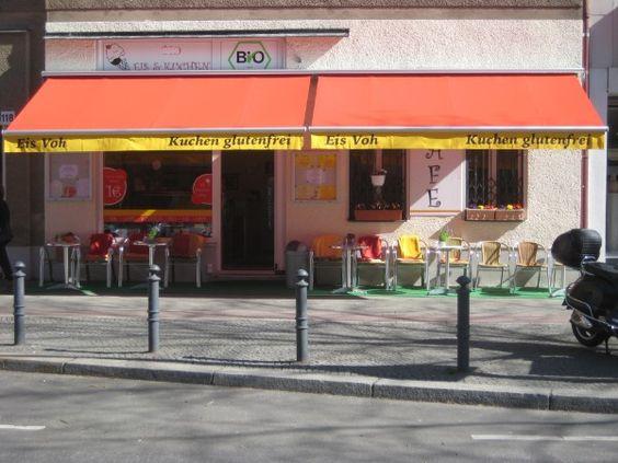 Nice Bio Eis Voh glutenfreier Kuchen Berlin
