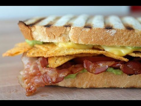 tortilla sandwich panini rezept nacho sandwich recipe eng subs kochvideos. Black Bedroom Furniture Sets. Home Design Ideas