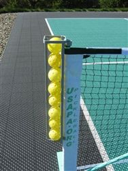 Ball holder will hold 8 pickleballs, comes in 3 options to fit your specific need. $37.99