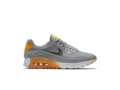 Nike Air Max 90 Ultra Essential Women\u0026#39;s Shoe, wolf grey/laser orange/total