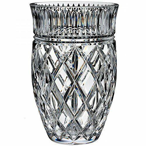 Waterford Crystal Eastbridge 8 Inch Vase New 40027693 Waterford Traditional Crystal Vase Waterford Crystal Crystal Glassware