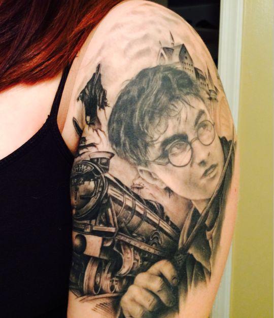 TatuandoModa: Galeria de tatuagem- 72 tatuagens inspiradas na saga Harry Potter