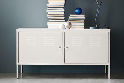 Mobilier Et Decoration Interieur Et Exterieur Meuble Bas Rangement Armoire Metallique Ikea Ikea