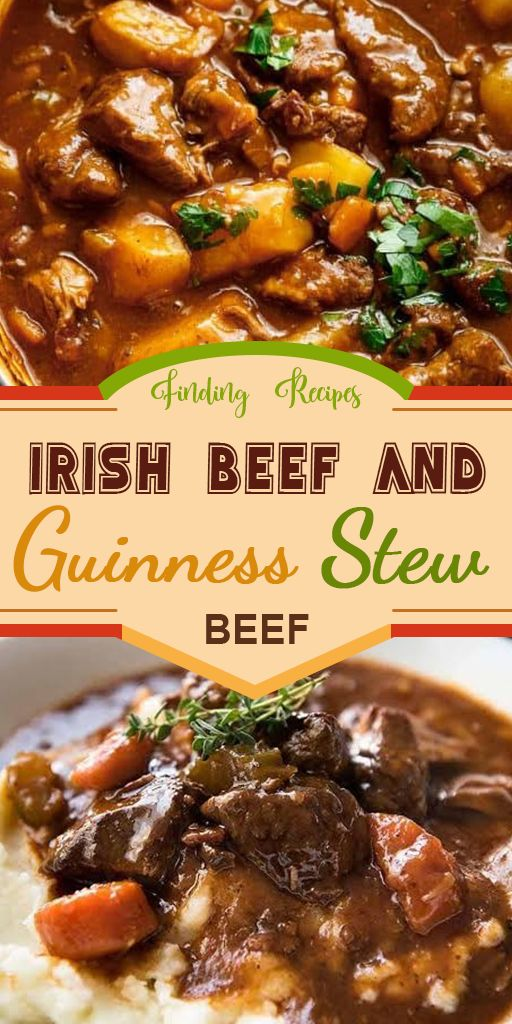 Irish Beef and Guinness Stew #Beef #Recipes
