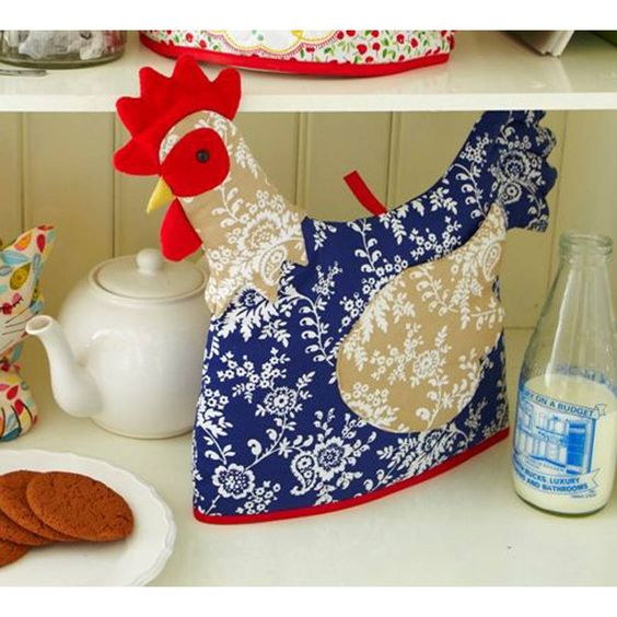 Chicken Shaped Tea Cosy | Tea Cosies, Teas and Chicken