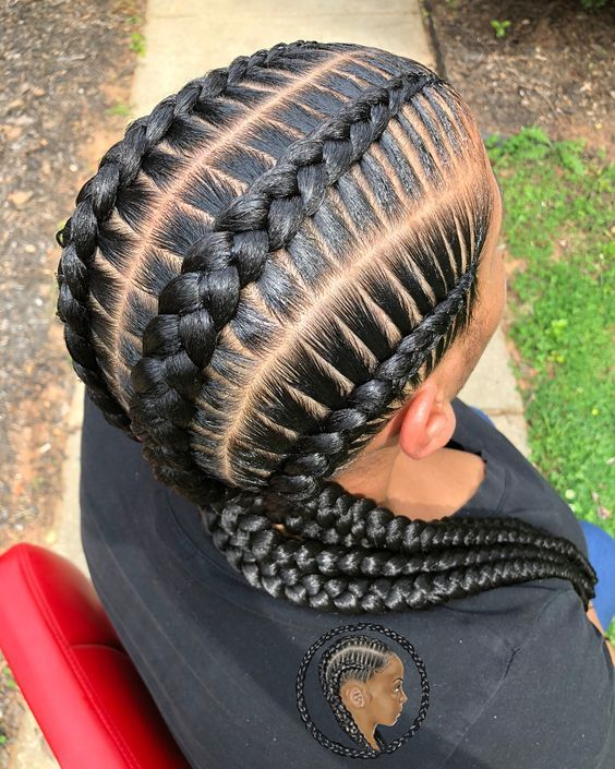 Stitch Braids Braids For Black Hair Braided Hairstyles Curly