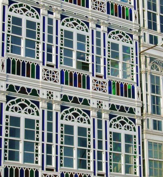 A coru a ciudad de cristal galicia espa a spain a - Arquitectura de interiores coruna ...