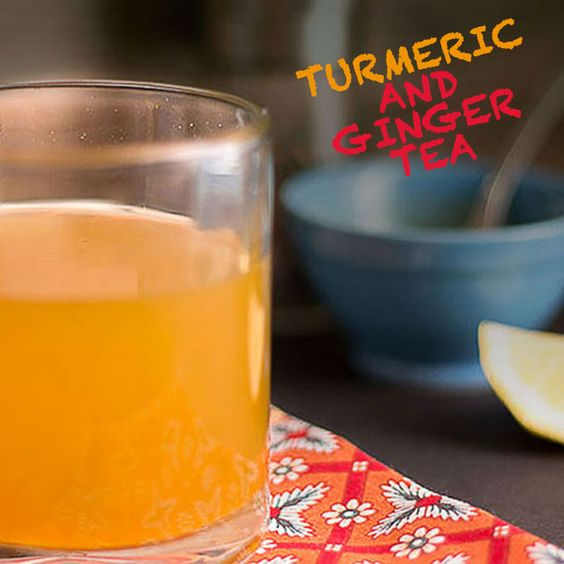 Turmeric and Ginger Tea - Goodbye inflammation! This medicinal tea ...